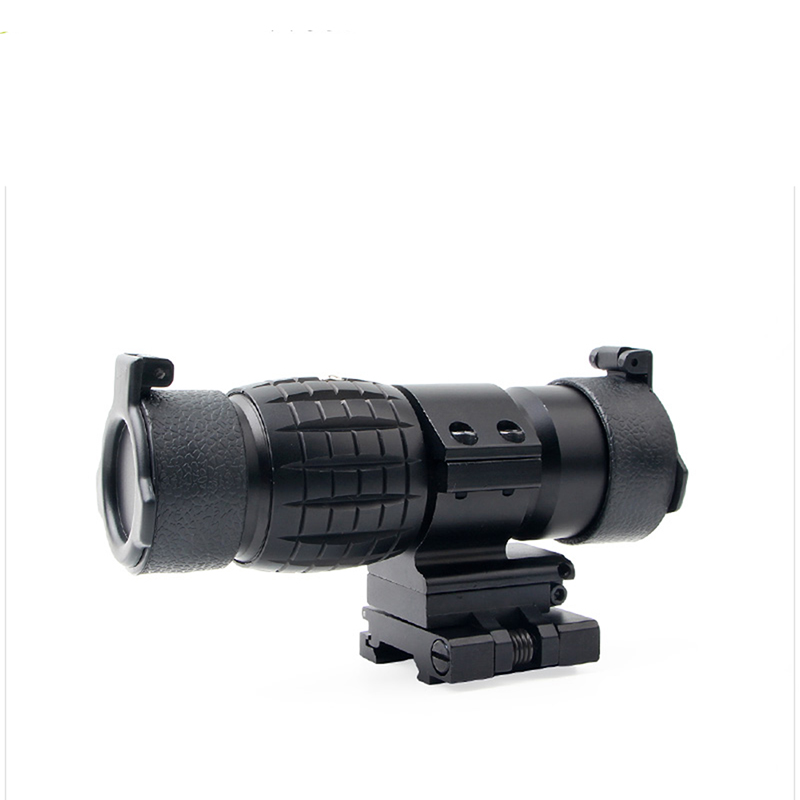 Side Turn Double Mirror Monocular Telescope Magnifying Glass Outdoor Hunting Accessories