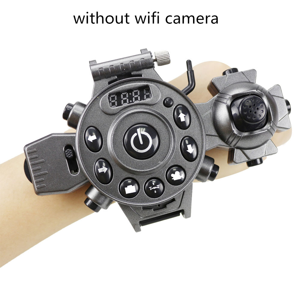 DH800 RC Drone Mini Foldable Mode Quadcopter 4 Channel Gyro Aircraft with Watch Type Remote Controller Fixed high version