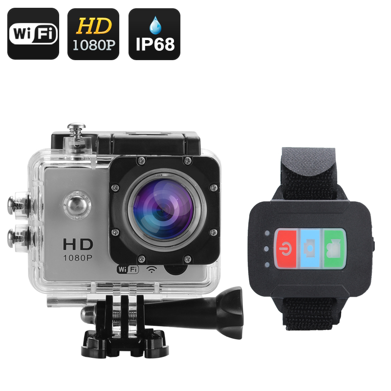 Q3 Wi-Fi Sports Action Camera (Silver)