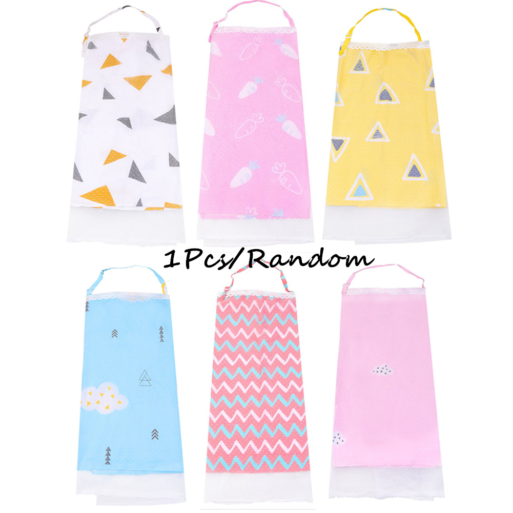 Baby Infant Nursing Cover Breastfeeding Scarf Apron Mum Color random_One size