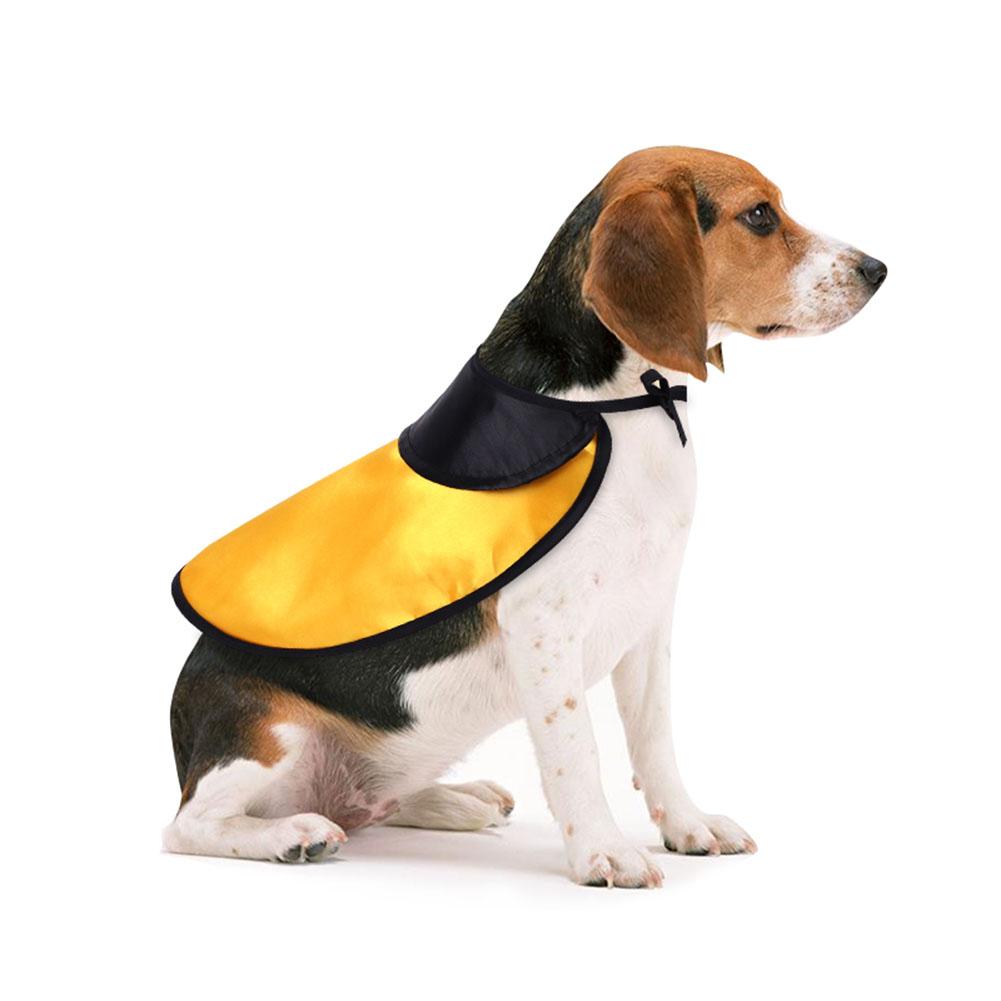 Pet Dog Halloween Costume Cloak for Party Decoration Accessories Orange _L