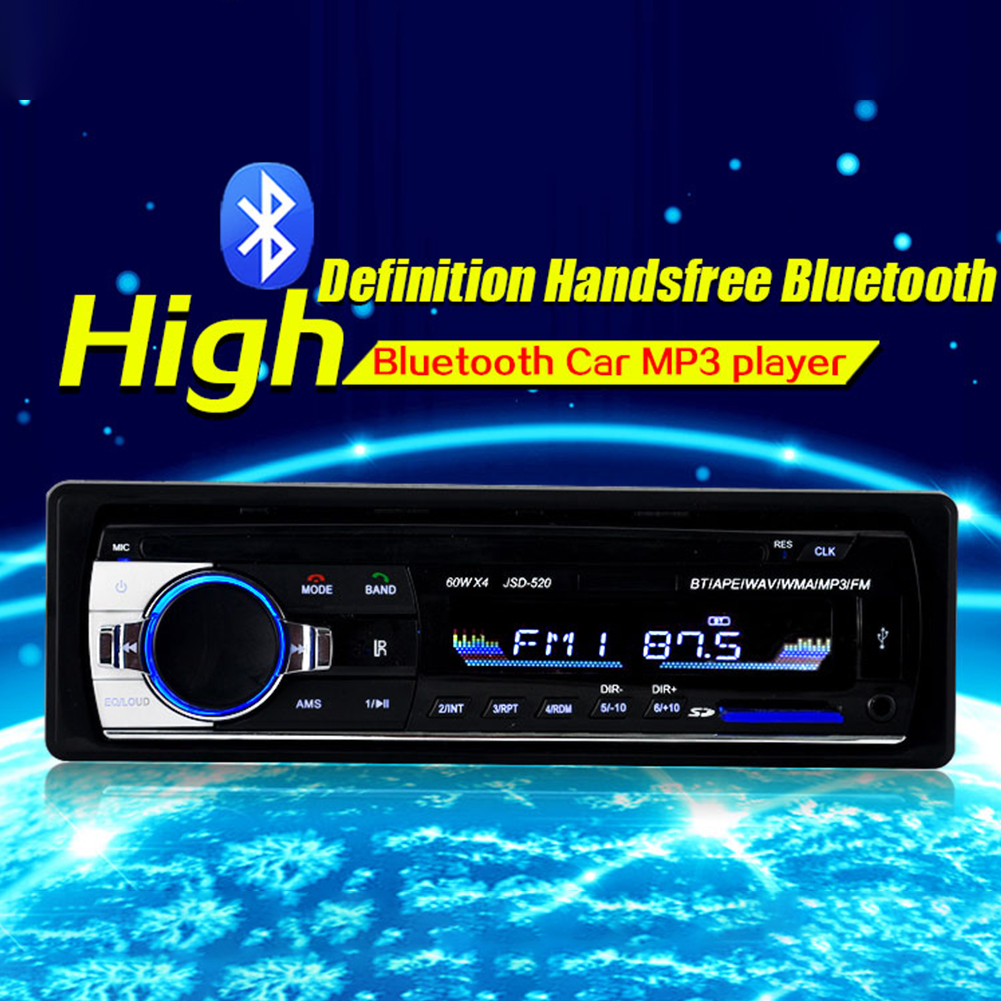 Black Bluetooth Car MP3 Player