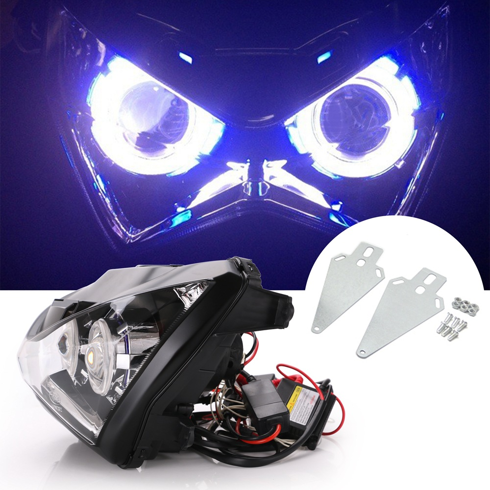 Motorcycle Headlight Bulbs for Z800 Kawasaki z250-2016 Fog Lights HF048