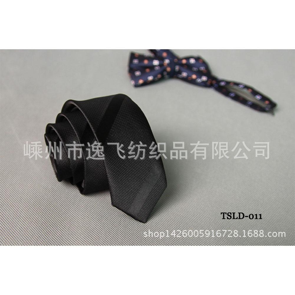 5cm Skinny Tie Classic Silk Solid Dot Narrow Slim Necktie Accessories Wedding Banquet Host Photo TSLD-011