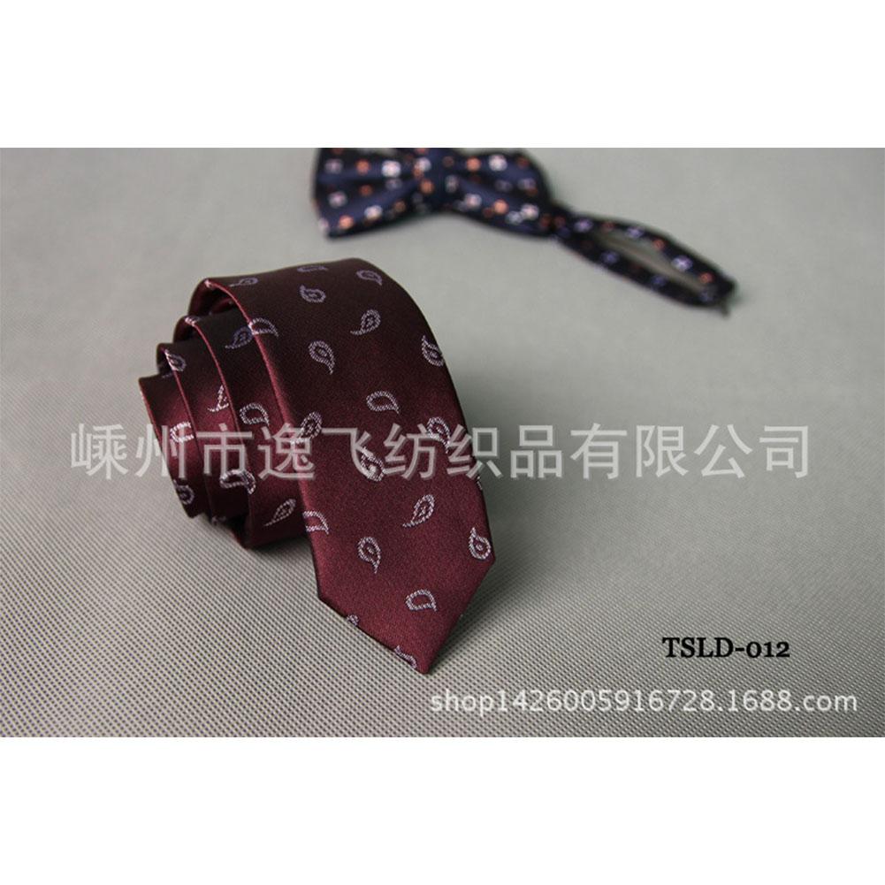 5cm Skinny Tie Classic Silk Solid Dot Narrow Slim Necktie Accessories Wedding Banquet Host Photo TSLD-012