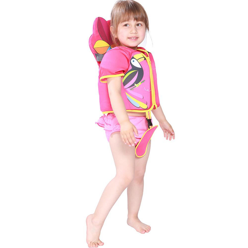 Children Fashion Cartoon Sports Swimming Buoyancy Jacket