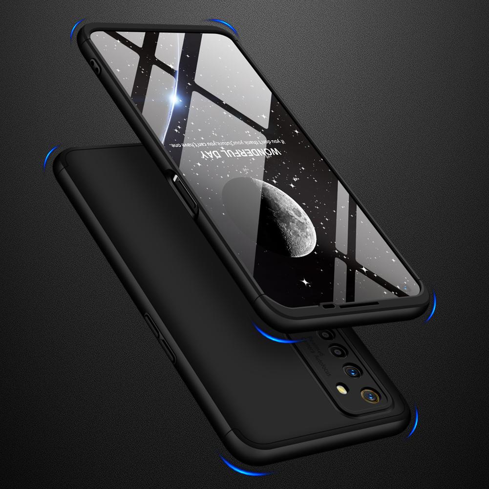 For OPPO Realme 6 Mobile Phone Cover 360 Degree Full Protection Phone Case black