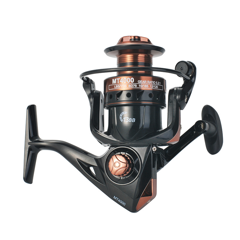 Fishing Reel Wire Cup Lure Sea Fishing Long Cast Anchor Spinning Wheel MT2000