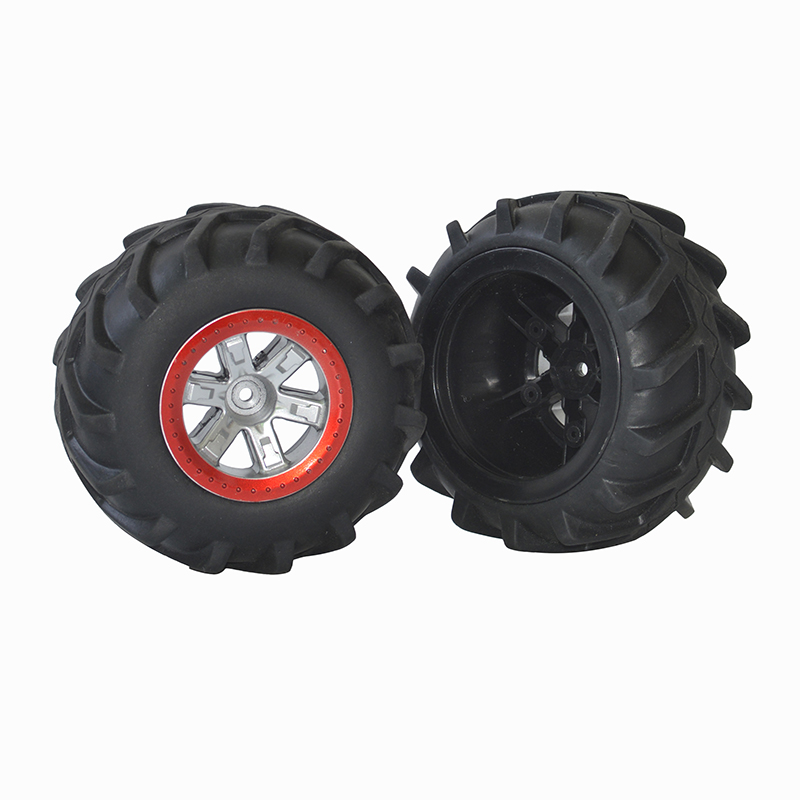2PCS/4PCS Rubber Upgraded Tyres Spare Parts for S911 9115 1/12 RC Off-road Car Toy New 2PCS
