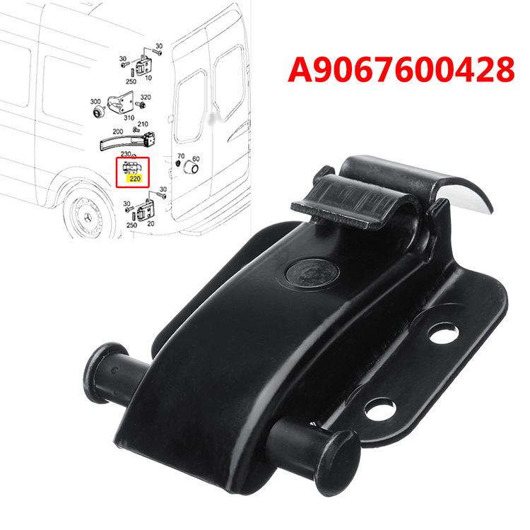 FOR MERCEDES SPRINTER VW CRAFTER 06- REAR DOOR HINGE CHECK STRAP BRACKET 9067600428; A9067600428