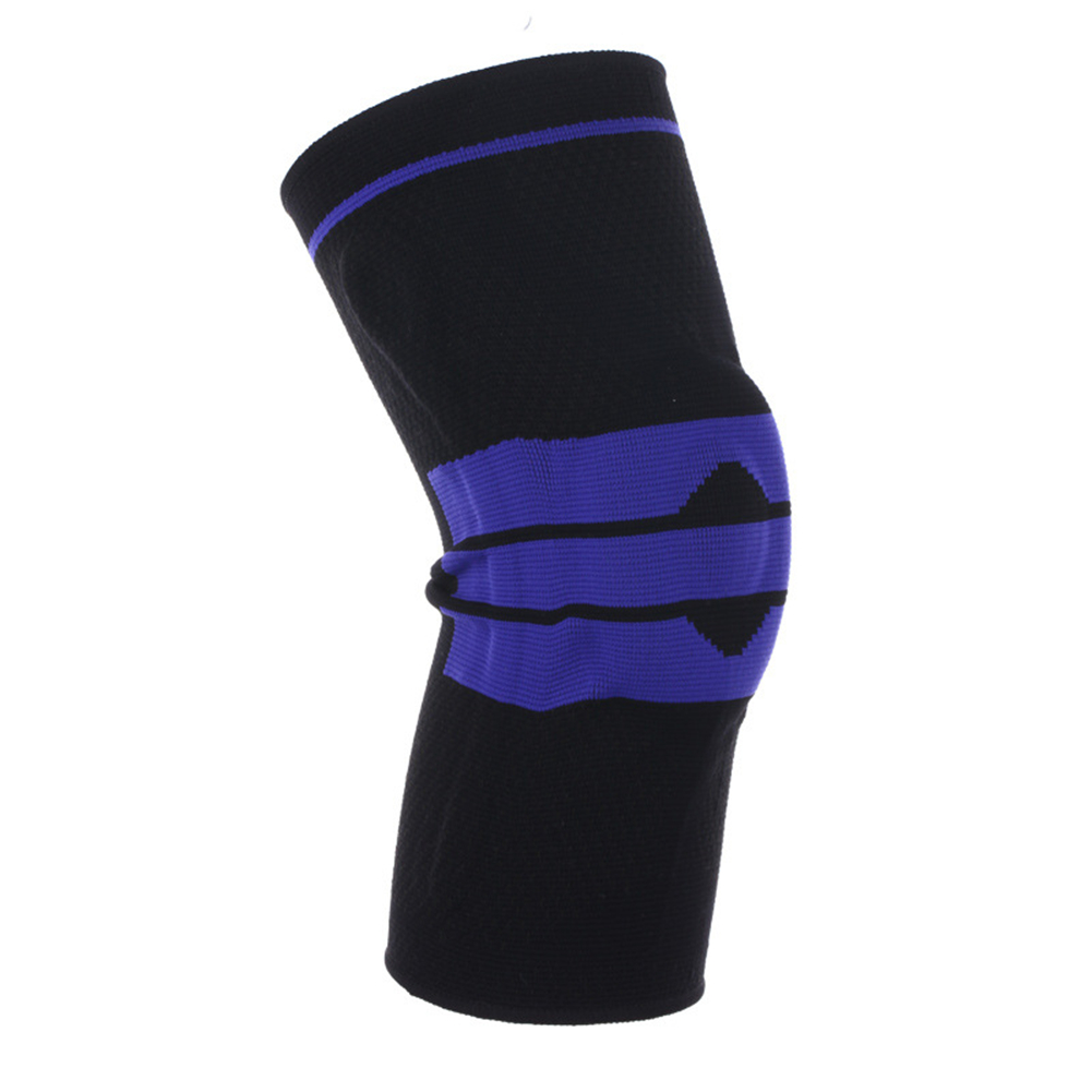 3D Weaving Protective Compression Knee Sleeve for Men & Women, Knee Brace Support for Basketball Football Sports Activities Black XL