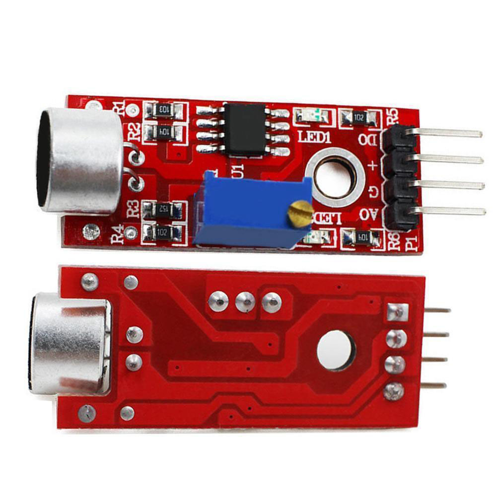3pcs Microphone Sensor AVR PIC High Sensitivity Sound Detection Module for Arduino