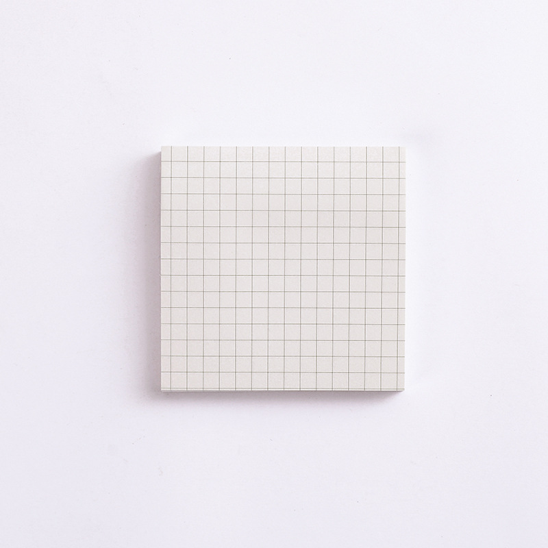 Kraft  Paper  Sticky Note  Square  Tearable  N-time   Sticky Note  Student Supplies Quartet small notes-beige square