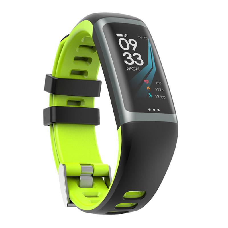 Greentiger G26 Smart Bracelet P67 Waterproof Heart Rate Blood Pressure Oxygen Fitness Bracelet Multi Sport Mode Smart Wristband Green