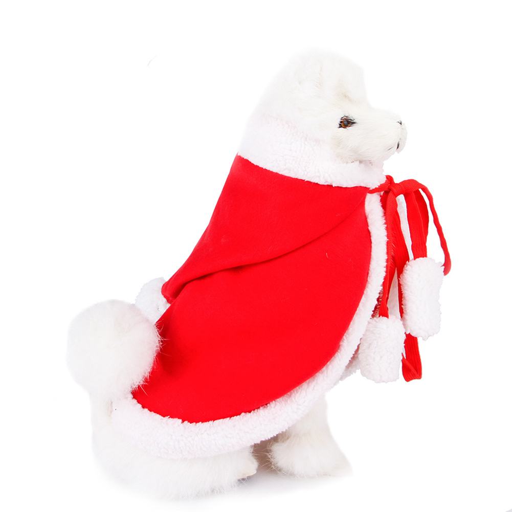 Funny Pet Cloak for Cats Christmas Halloween Cosplay S