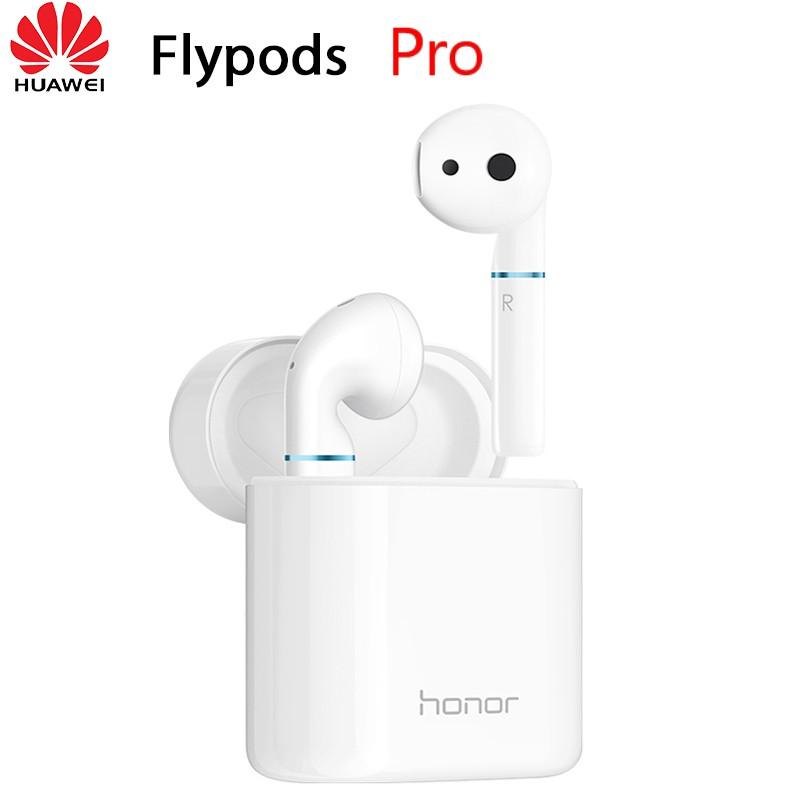 Original HUAWEI Honor Flypods Pro Wireless Earphone Hi-Fi HI-RES WIRELESS AUDIO Waterproof IP54 Wireless Charge Bluetooth 5.0 white