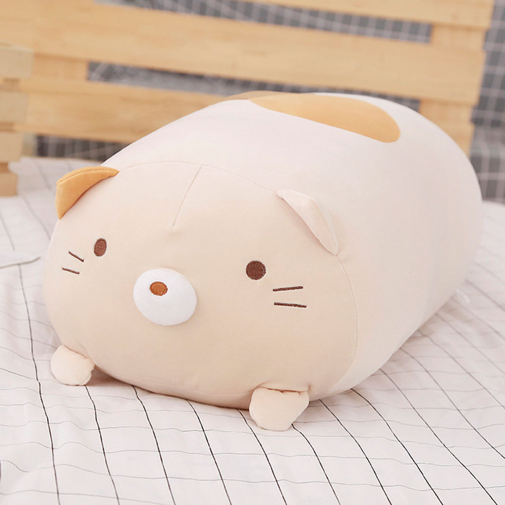 28CM Soft Cute Cotton Pillow Plush Toy Doll Cushion for Valentine's Day and Birthday  Cat