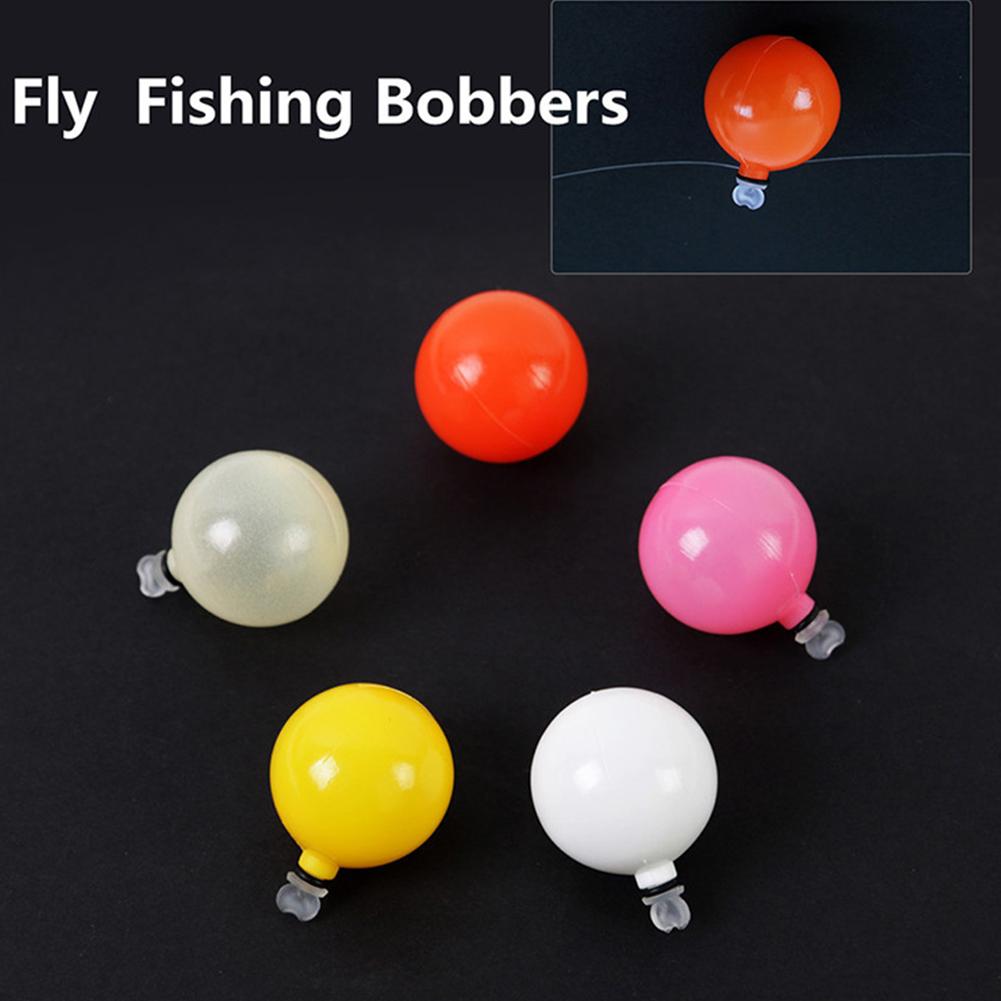 5pcs Self-Adhesive Float Foam Plastic Tear Drop Bobber Tube Strike Indicator Fly Fishing Accessory large