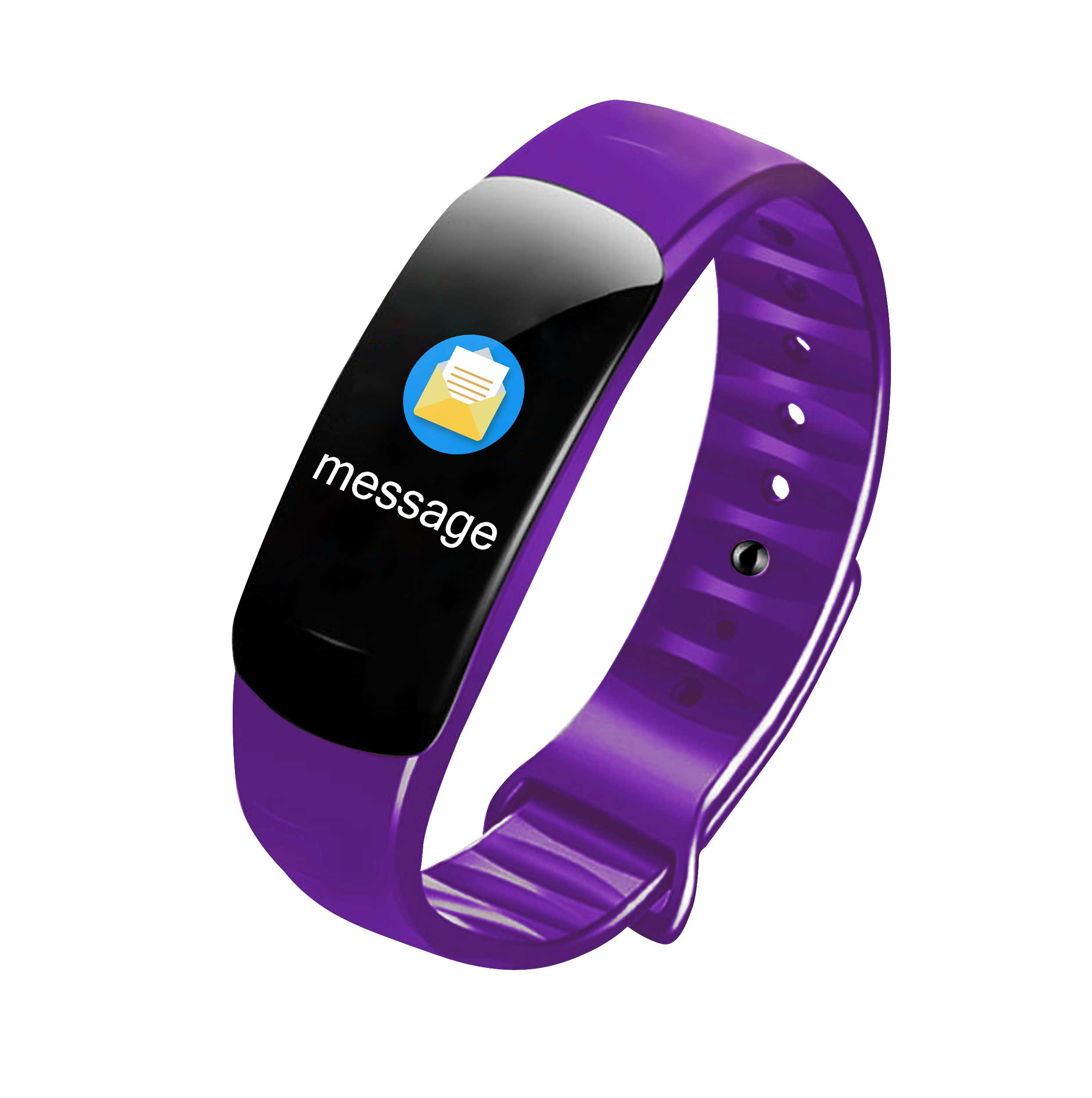 Fitness Bracelet Smart Watch Wristband Pedometer Heart Rate Monitor Activity Tracker smart bracelet purple