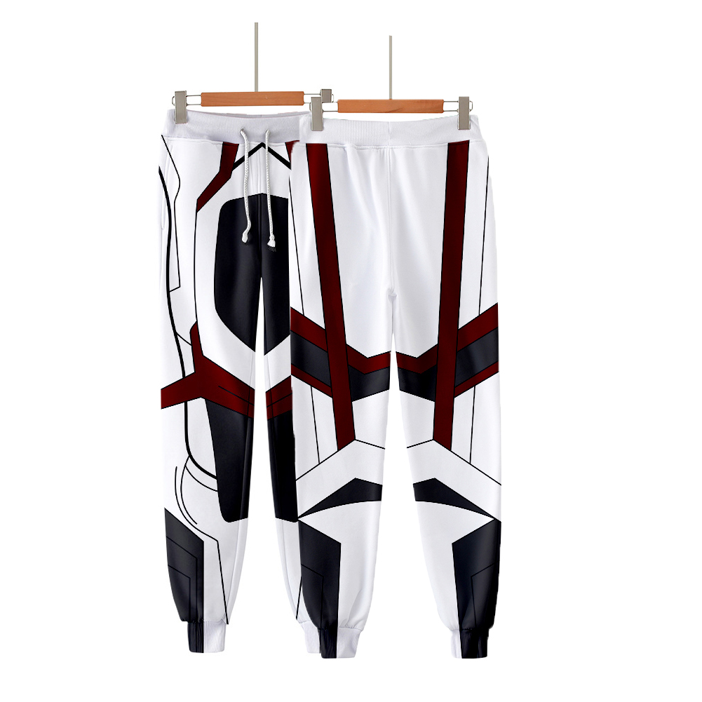 Avengers Endgame 4 Quantum Battle Suit 3D Printing Men Women Cosplay Pants Q-3868-YH15_S