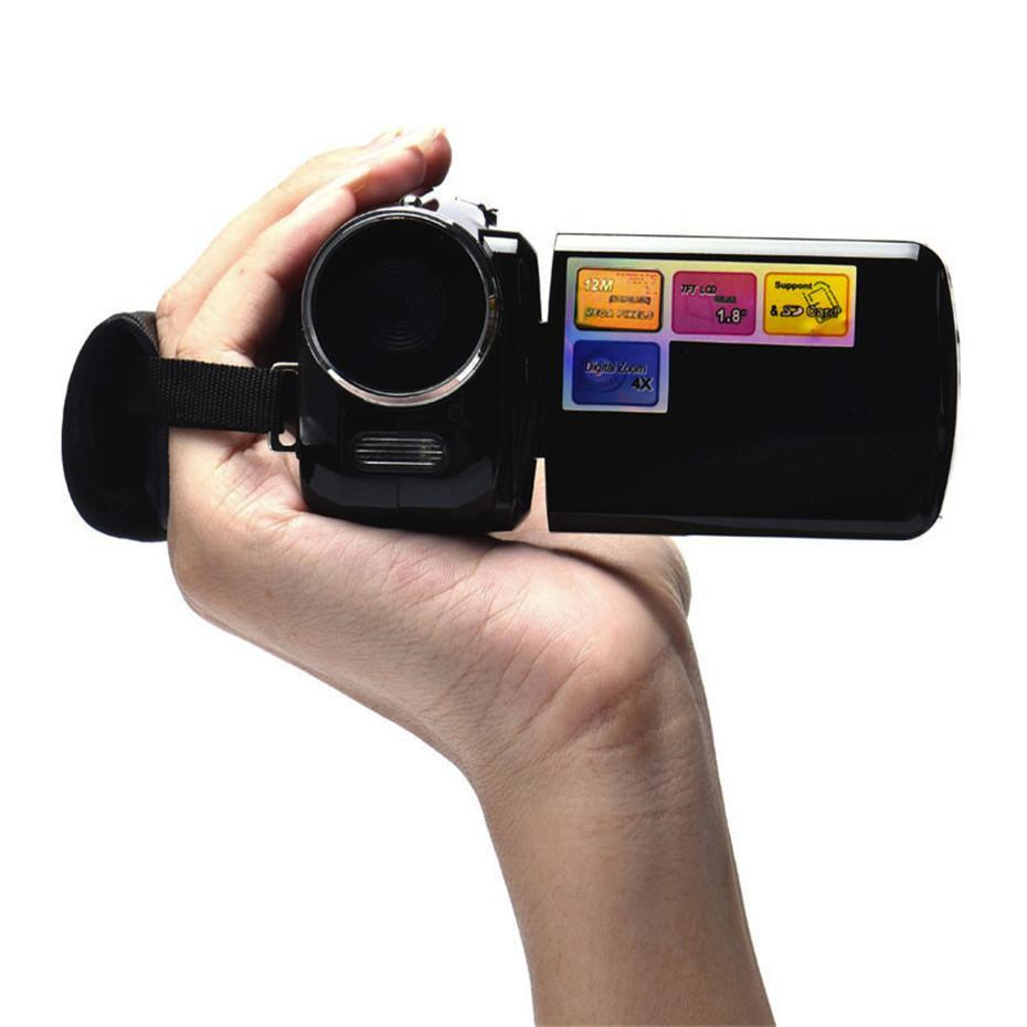 Handheld Home Digital Video Camera Camcorder DV 16x Digital Zoom HD 1080P Night Vision Recording Camera black