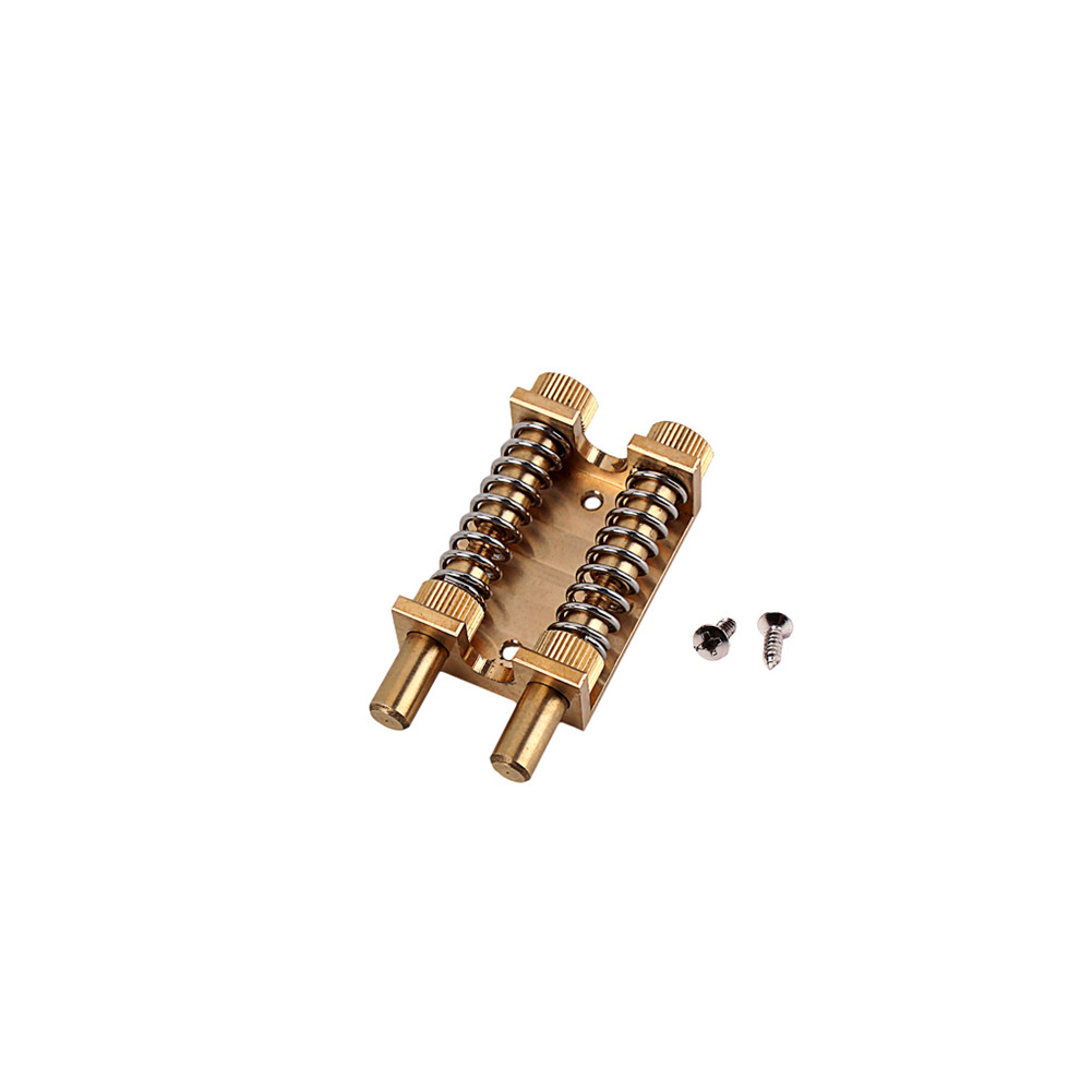 Electric Guitar Tremolo Bridge System Stable Double Brass Rod Device for Stratocaster Strat ST