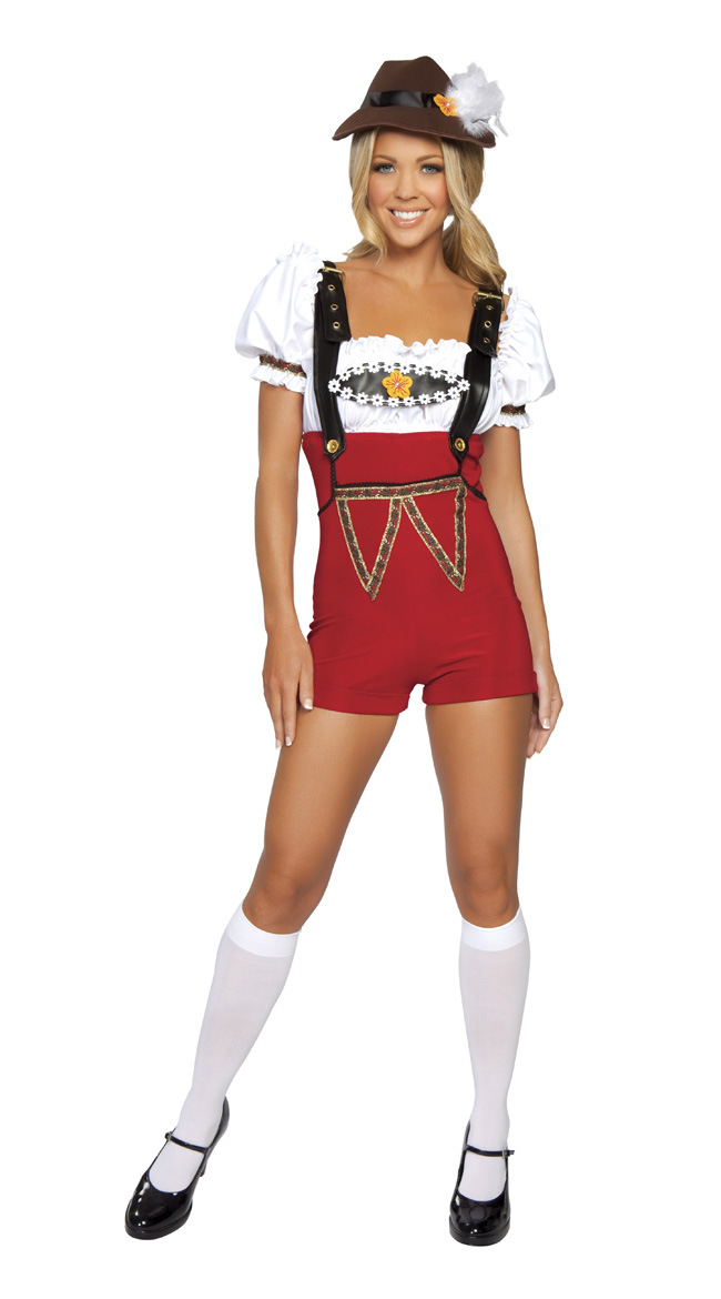 Woman Sexy Slim High Waist Suspender Shorts Suit Halloween Special Festival Costume Bar Waitress Suit One size
