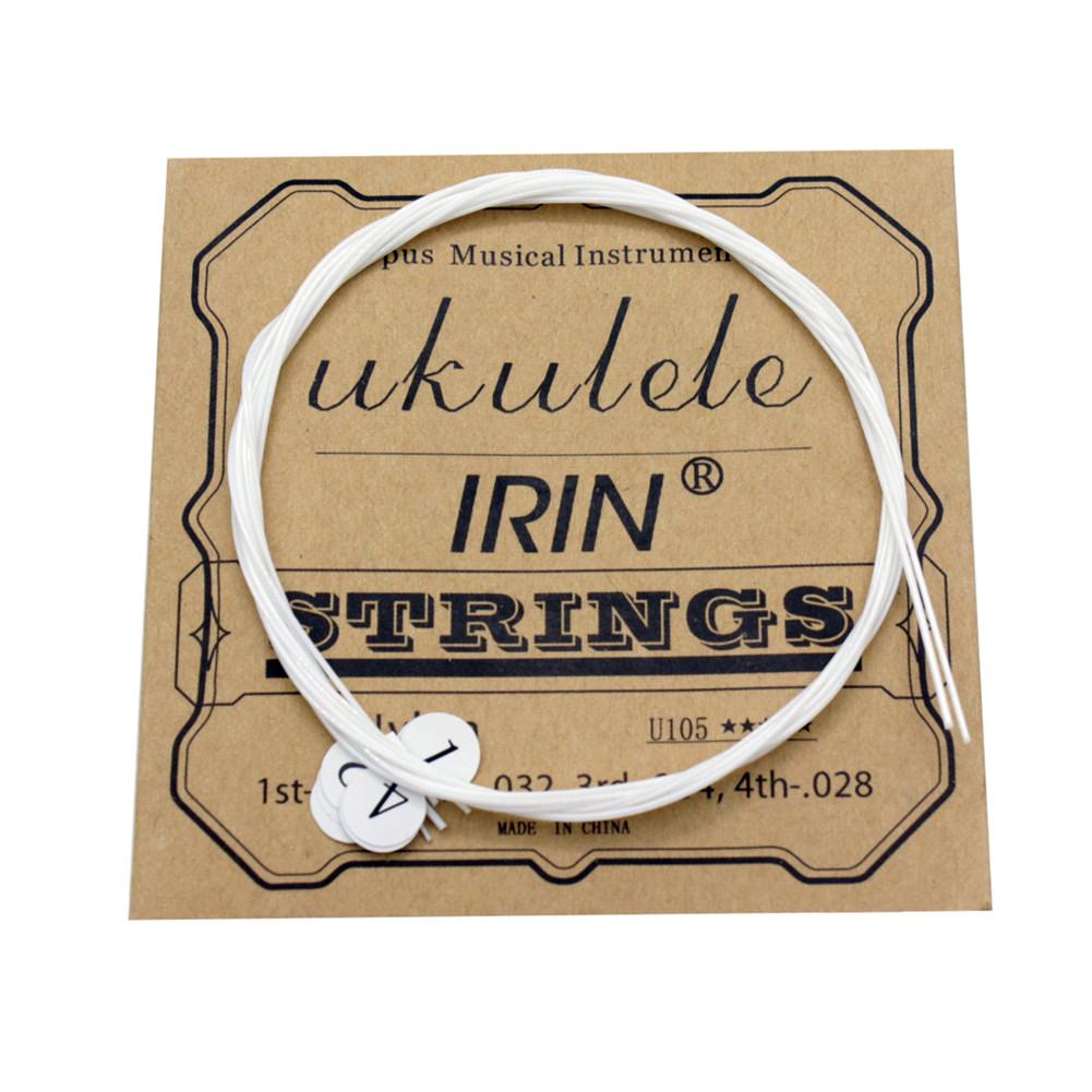 U105 Ukulele Strings Nylon Soprano Concert Tenor Ukelele Strings Musical Instrument Replacement Part