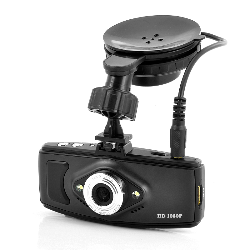 Car Black Box DVR w/ GPS Logger + Camera