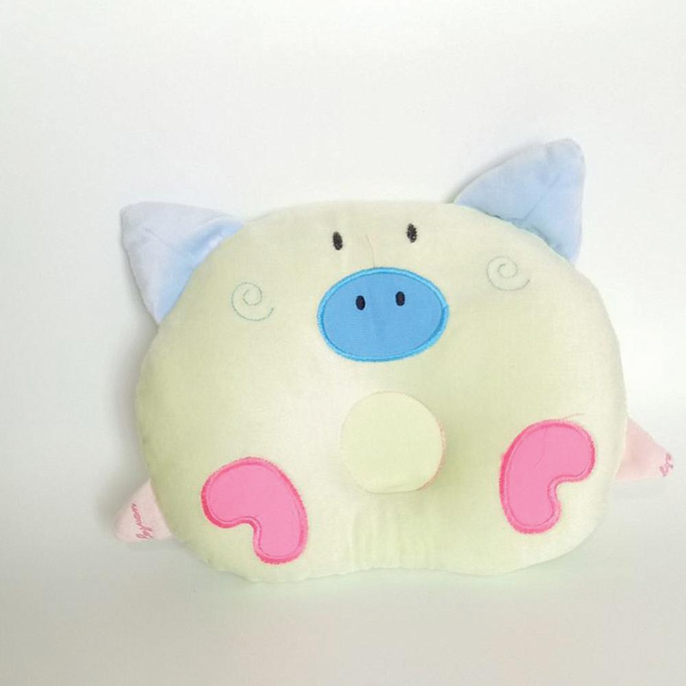 Comfortable Multi-Function Prevents Flat Head Soft Velvet Pillow for Baby Infant