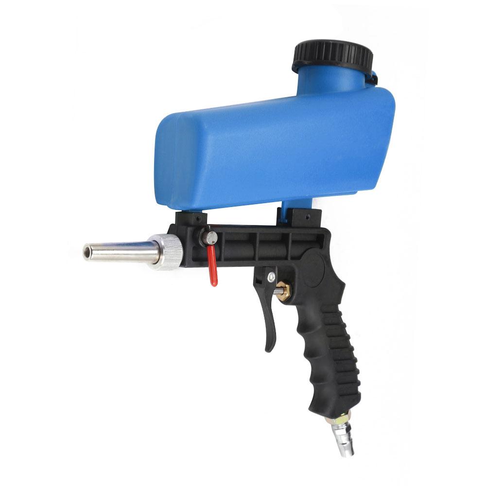 90psi Portable Pneumatic Sandblasting Machine Small Sand Blasting Spray Sandblaster