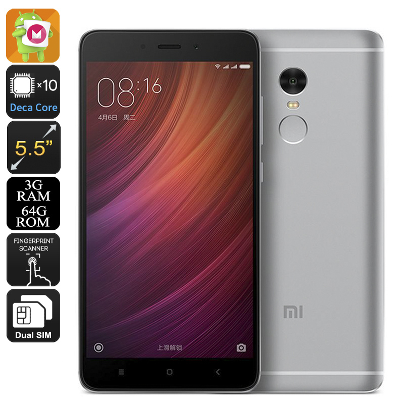 Xiaomi Redmi Note 4 64GB (Grey)