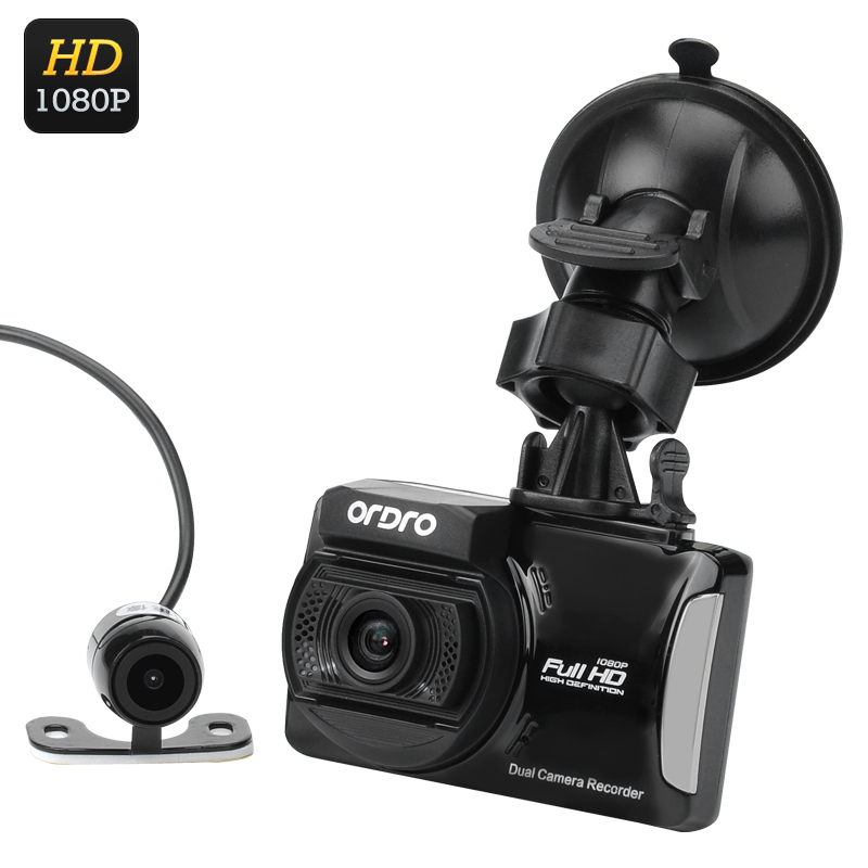 Full HD Car DVR + Parking Camera