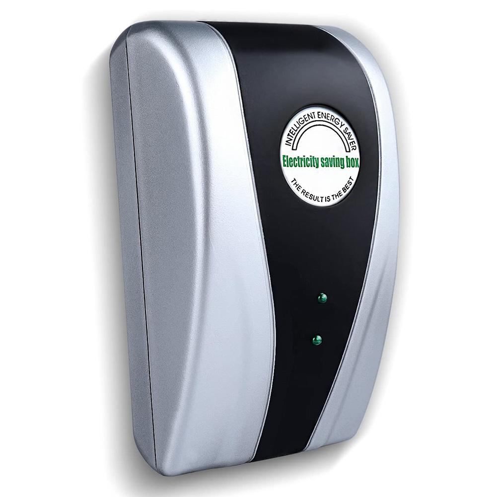 Electricity Saving Box 90V-250V Energy Power Money Saver Home Use UK/US/EU Plug UK plug, with capacitors