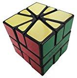 [EU Direct] Cubetwist Square One SQ1 Speedcube Puzzle Brain Teaser Black