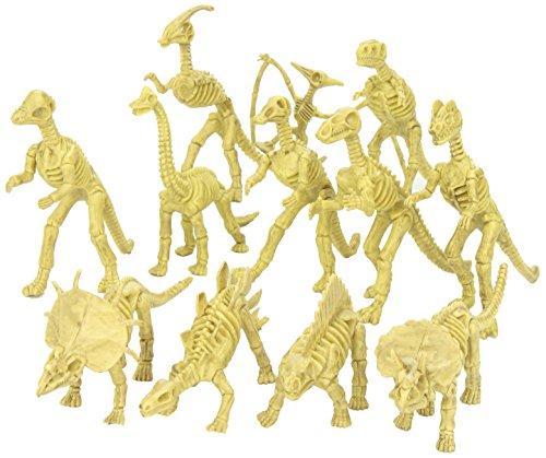 [EU Direct] Model Dinosaur Skeleton Kit Assorted Set of 12pcs