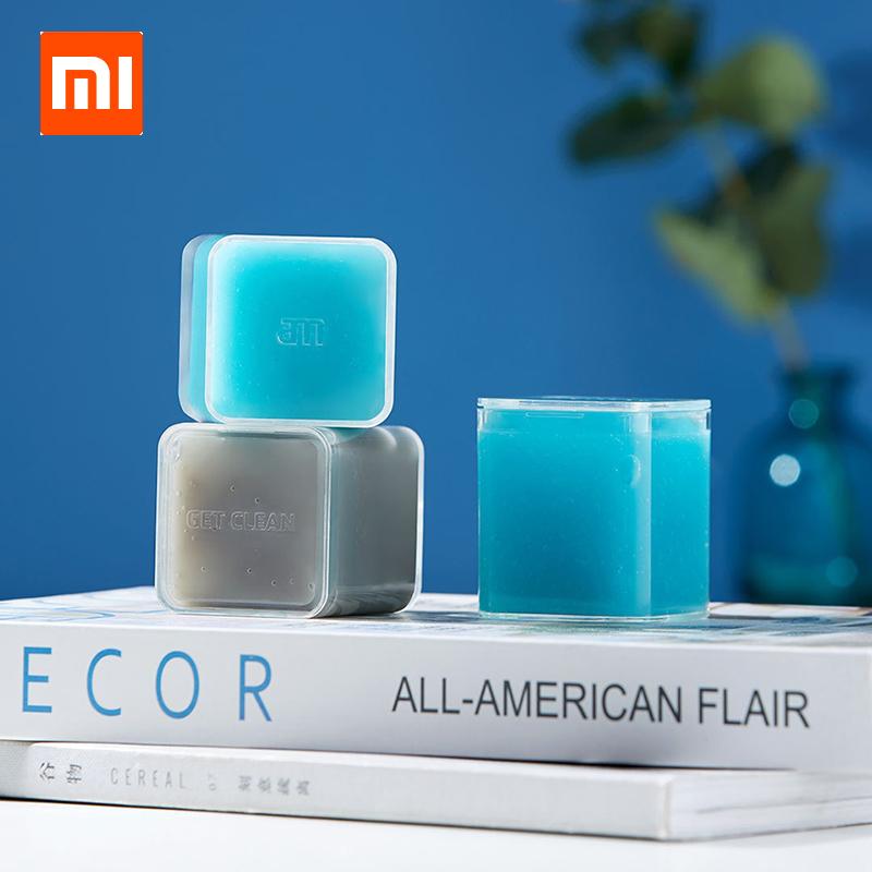 Xiaomi Clean-n-Fresh Keyboard Car Cleaning Rubber Antibacterial Gel Magic Mud Dust Cleaner gray