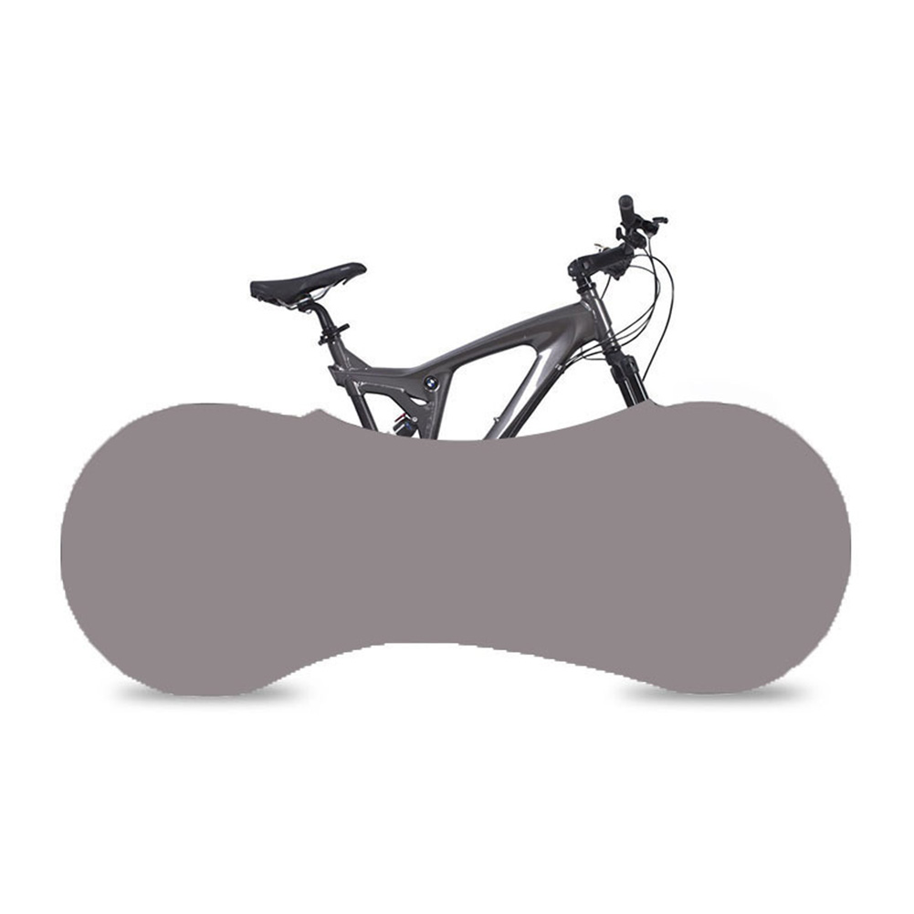 Bicycle Dust Cover Wheel Cover Mountain Bike Cover Elastics Dustproof Cover gray_160*55cm