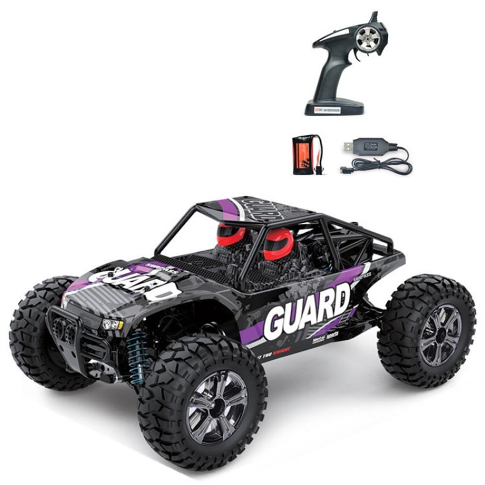 1/14 Electric 2.4GHZ BG1520 4 Wheels Drive Metal Differential Straight Bridge Remote Control Car Toy purple