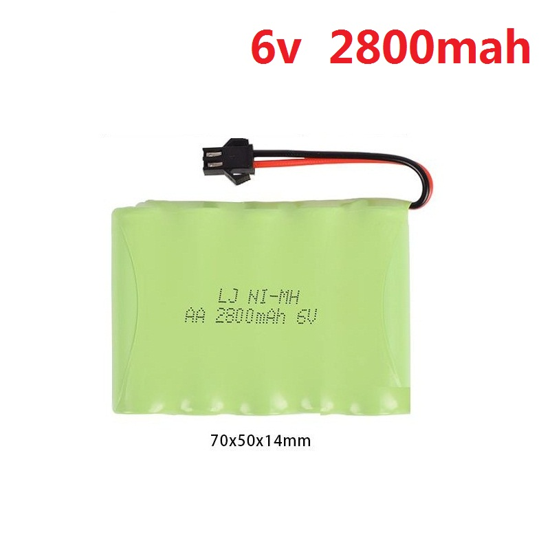 4.8V 700mah/1800mah/2800mah M-Style AA NI-MH Rechargeable Battery for Electric Toys/RC Car/RC Truck/RC Boat  2800mah