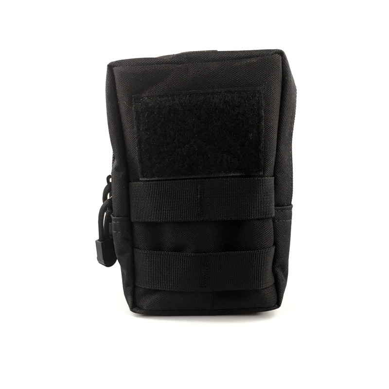 Tactical Molle System Medical Pouch Waist Pack Phone Case Airsoft Hunting Pouch black_16*12*6.5cm