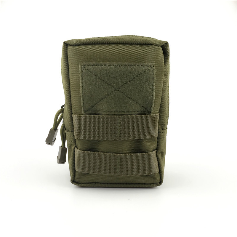 Tactical Molle System Medical Pouch Waist Pack Phone Case Airsoft Hunting Pouch Military color_16*12*6.5cm
