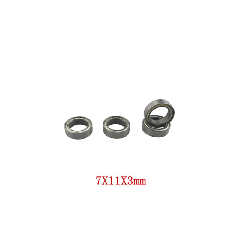 4PCS 7X11X3mm Bearings for WLToys A959-B A979-B A959 A969 A949 A979 K929 A969-B K929-B Remote Control Car Accessories default