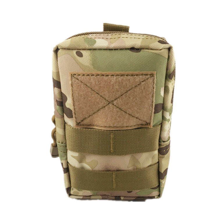Tactical Molle System Medical Pouch Waist Pack Phone Case Airsoft Hunting Pouch CP_16*12*6.5cm