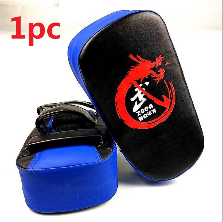 Kick Boxing Pad Punching Bag Foot Target Mitt MMA Sparring Muay Thai Boxing Training Gear Punching  blue