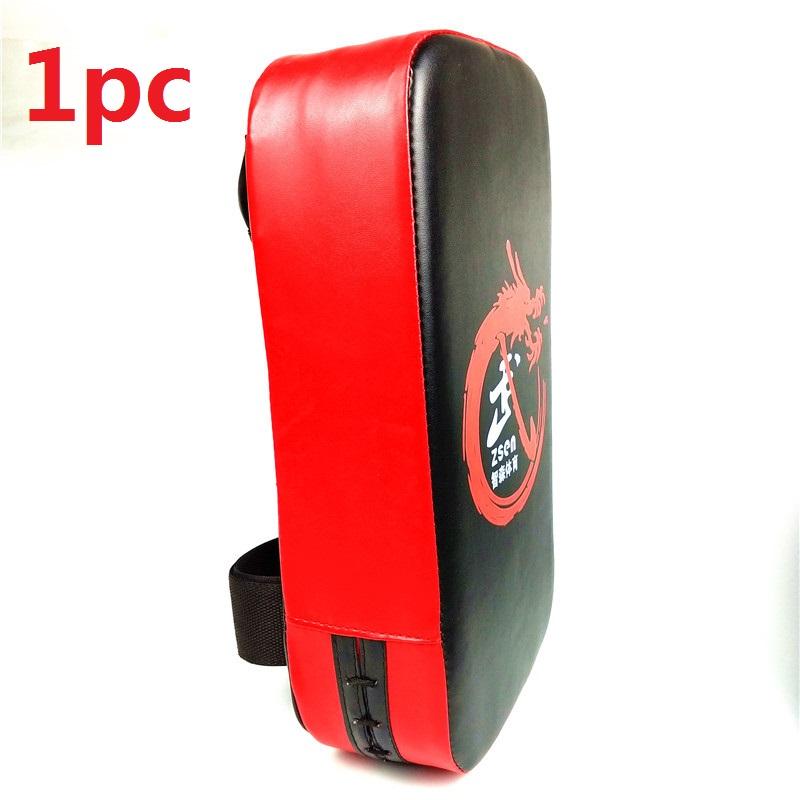Kick Boxing Pad Punching Bag Foot Target Mitt MMA Sparring Muay Thai Boxing Training Gear Punching  red
