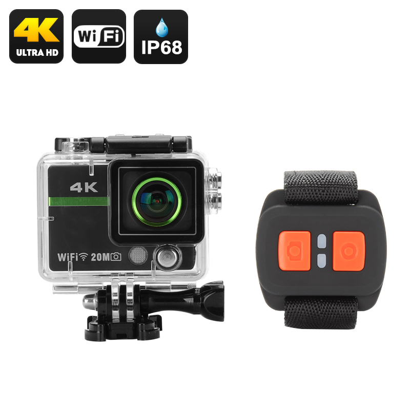 wholesale ultra hd 4k action camera with remote from china. Black Bedroom Furniture Sets. Home Design Ideas