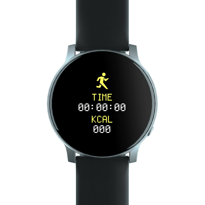 Smart Bracelet Tpu Heart Rate Blood Pressure Blood Oxygen Monitor Step Counter Message Reminding Sports Bracelet Silver gray