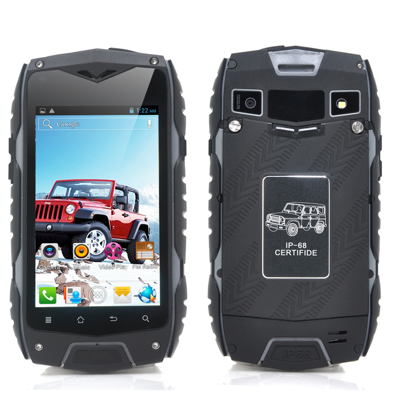Rugged 4 Inch Android 4.2 Phone (Black)
