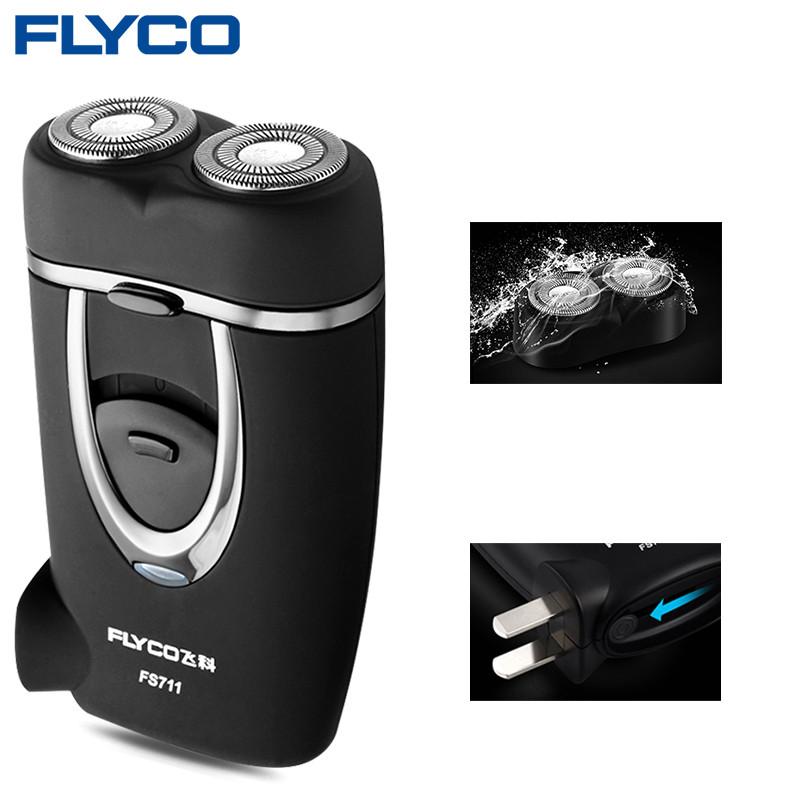 FLYCO FS711 Shaving Machine for Men Beard Barbeador Eletrico Masculino Barbeador black_US